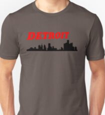 Detroit Skyline Unisex T-Shirt