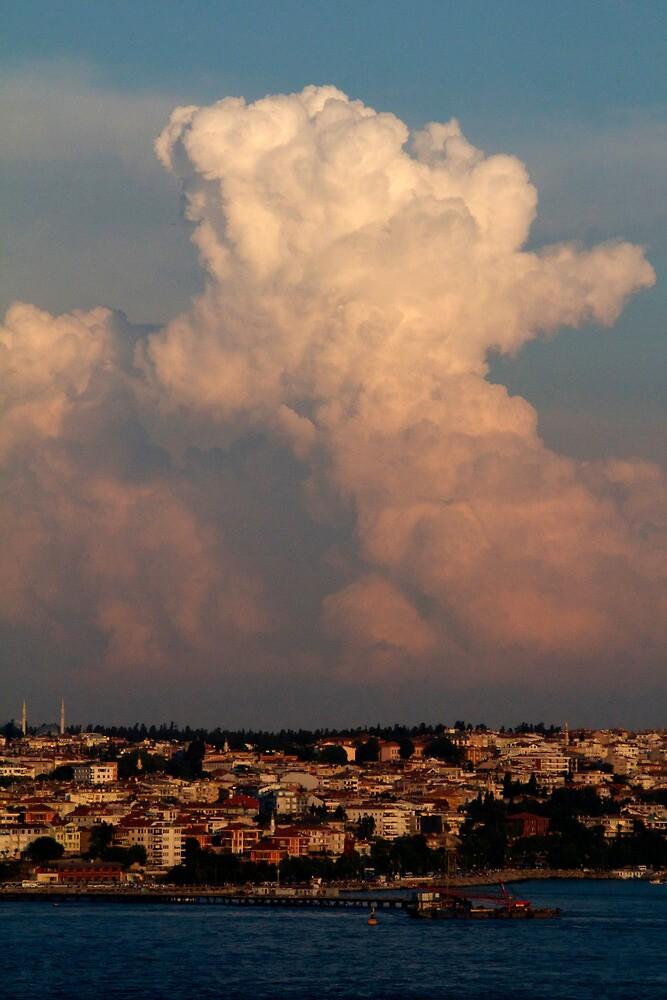 Fairy Tale Clouds in Istanbul by Krasdale