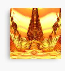 Quetzal Stargate Bridge Canvas Print