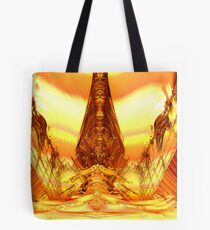Quetzal Stargate Bridge Tote Bag