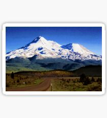 Mt. Shasta Graphic Sticker