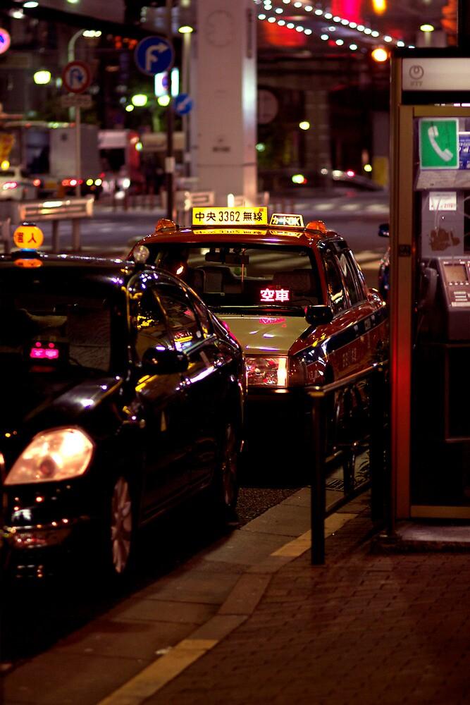 Tokyo Cabs by Krasdale