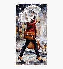 Rainy day - Woman of New York /17 Photographic Print