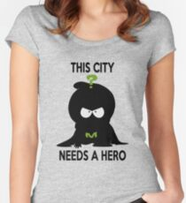 mysterion Women's Fitted Scoop T-Shirt
