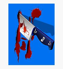 The Butcher Knife Photographic Print
