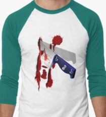 The Butcher Knife Men's Baseball ¾ T-Shirt