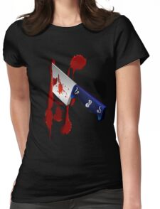 The Butcher Knife Womens Fitted T-Shirt