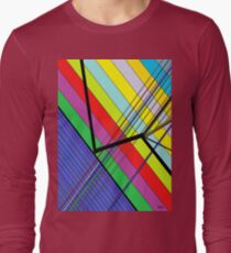 Diagonal Color - Abstract T-Shirt