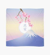 Mt Fuji Plum Blossoms Spring Japanese Umenohana Scarf