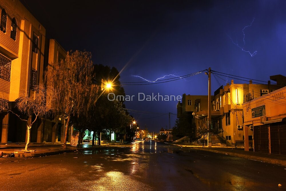 Street Lightning II by Omar Dakhane