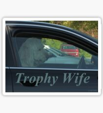 Trophy Wife Sticker