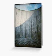 Waterwall 2 Greeting Card