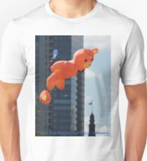 Flying Bear Watches Over City of Milwaukee Unisex T-Shirt