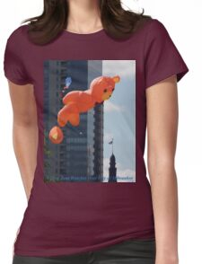 Flying Bear Watches Over City of Milwaukee T-Shirt