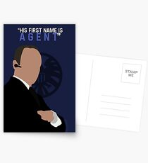 """His First Name is """"AGENT."""" Postcards"""