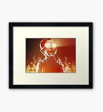 FIREEE! Framed Print