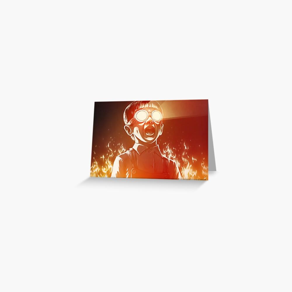 FIREEE! Greeting Card