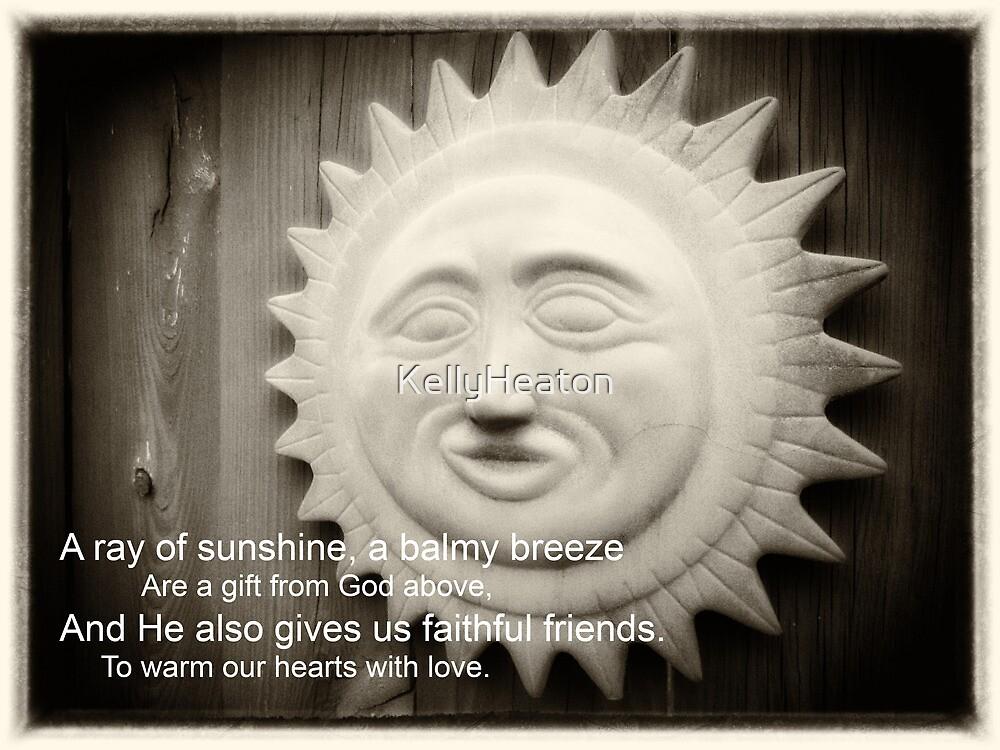 Terracotta Sun Shine by KellyHeaton