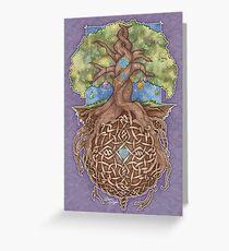 Gaia Life Tree Greeting Card