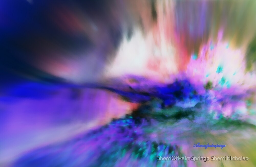 BURSTING ENERGY FROM WITHIN/ DEDICATED TO 9-11-2001-2012 by SherriOfPalmSprings Sherri Nicholas-