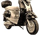 Moped by Isaac Novak