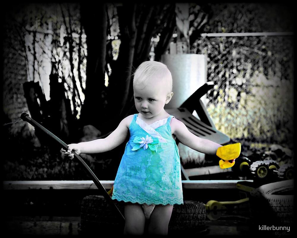 Yellow Shovel by killerbunny