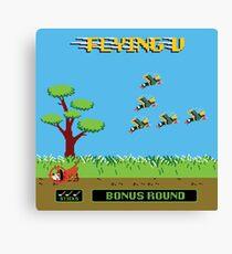 Mighty Ducks Flying V/Duck Hunt Canvas Print