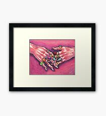 Silly Things Framed Print