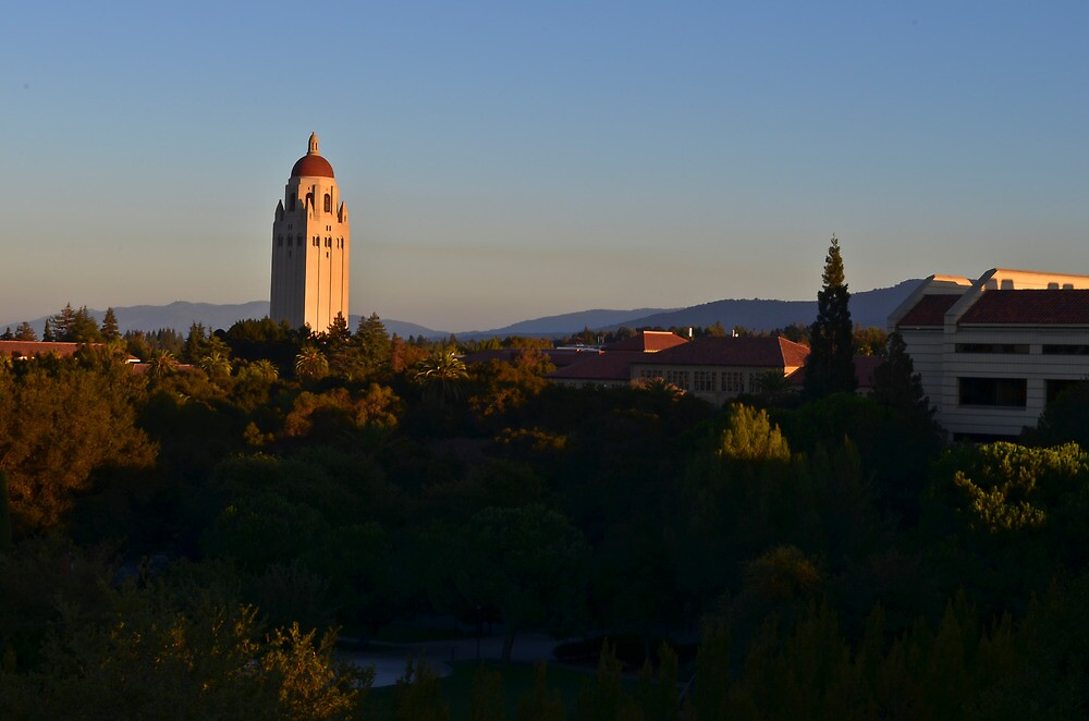 Stanford's Hoover Tower by VincenzoL