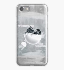 Overcome the Winter - Dark iPhone Case/Skin