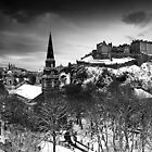 Edinburgh In Ermine by Stuart Robertson Reynolds