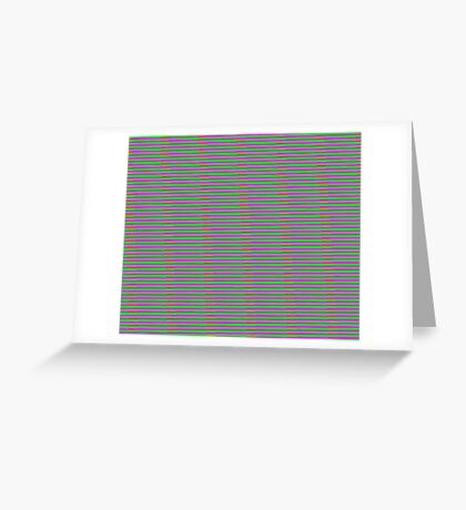 Interference Pattern Greeting Card