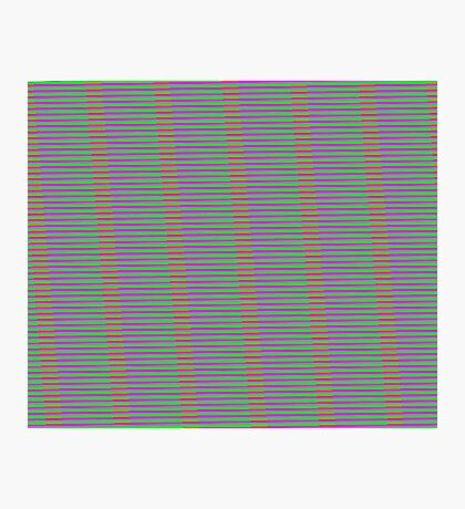 Interference Pattern Photographic Print