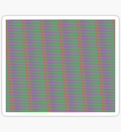 Interference Pattern Sticker