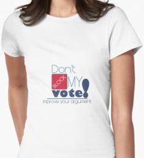 Politics: Don't Block My Vote T-Shirt