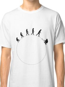 99 steps of progress - Science Classic T-Shirt