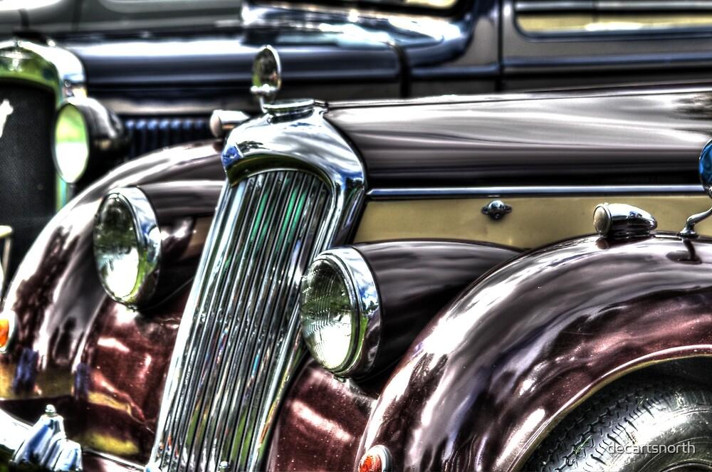Vintage English Riley Car by decartsnorth