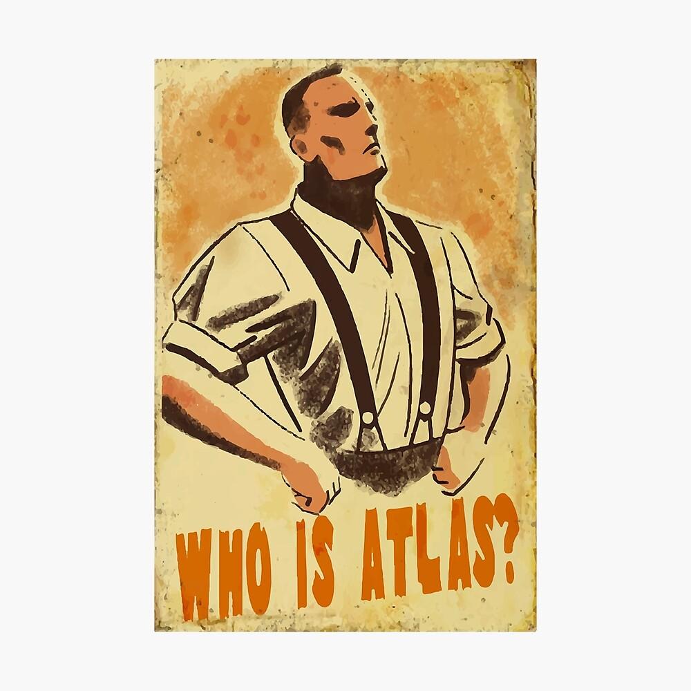 Wer ist Atlas? Fotodruck