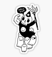 Super Duper Necromancer Sticker