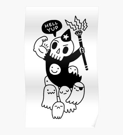 Super Duper Necromancer Poster