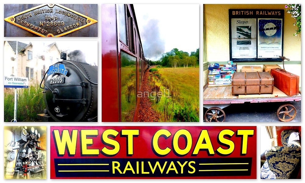 West Coast Railways ~ The Jacobite Experience by ©The Creative  Minds
