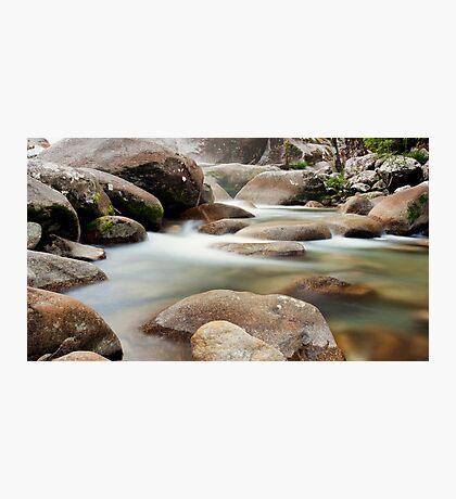 Slow Flow - Josephine Falls, far north Queensland Photographic Print