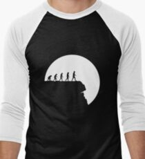 99 steps of progress - Free will Men's Baseball ¾ T-Shirt