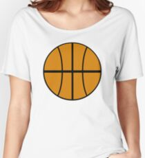 Noodle DARE Basketball Tee Women's Relaxed Fit T-Shirt