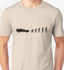 99 steps of progress - Time travel Unisex T-Shirt