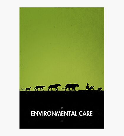 99 steps of progress - Environmental care Photographic Print
