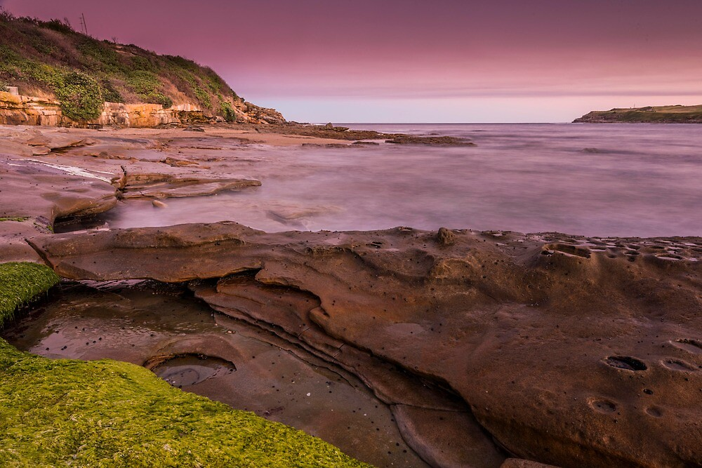 Long Bay at Malabar in Sydney at sunset by KeithMcInnes