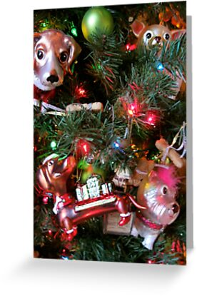 Christmas Dogs by Michelle Izzo White