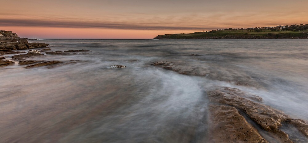 Long Bay at sunset in Sydney by KeithMcInnes