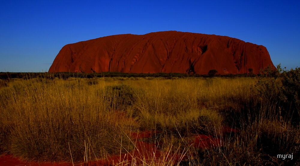 ULURU  Northern Territory by myraj